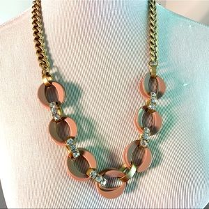 NWT J. Crew Gold-tone Statement Necklace